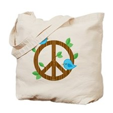 Blanket_BluebirdsOfPeace-01 Tote Bag