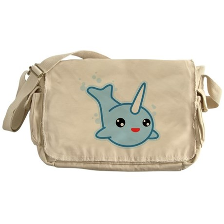 Narwhal Kawaii Messenger Bag