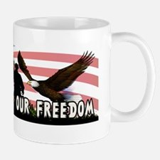 Thank You For Our Freedom 4 Mug