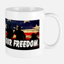 Thank You For Our Freedom 2 Mug