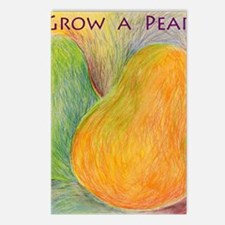 GrowPear Postcards (Package of 8)