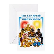 Village Bears trans Greeting Card