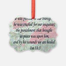 healing verse Ornament
