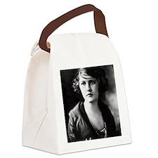 ZELDA with AUTOGRAPH` Canvas Lunch Bag