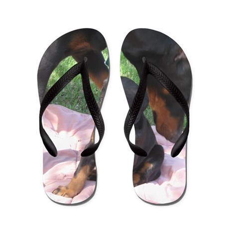 brown and mama Flip Flops