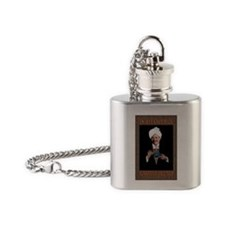 POP Eastern Blend Poster Flask Necklace