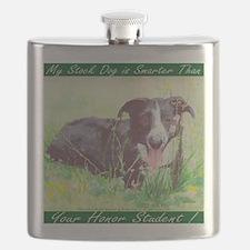 My Stock dog green Flask