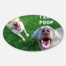 Dogspoop Sticker (Oval)