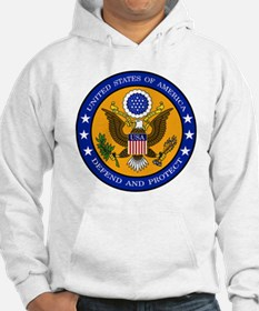 Defend And Protect 3 Hoodie