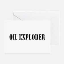Oil Explorer Greeting Cards (Pk of 10)