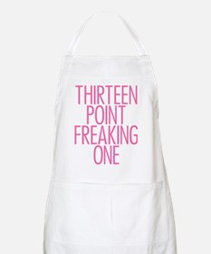 Thirteen Point Freaking One Pink 2 Apron