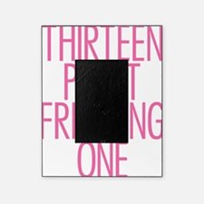 Thirteen Point Freaking One Pink 2 Picture Frame
