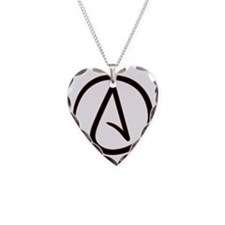 AtheistSymbolRound Necklace