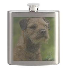 Border Terrier 8T087D-07 Flask