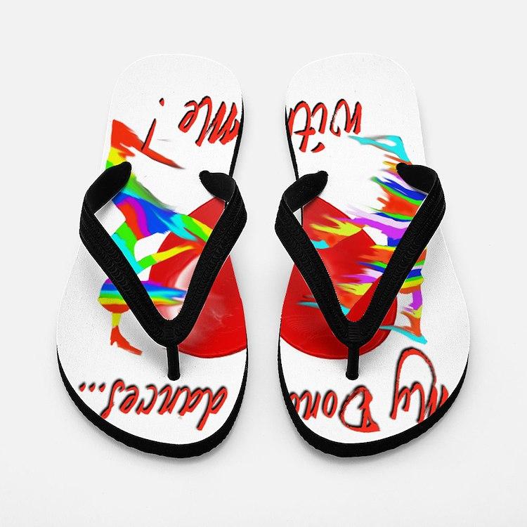 My Organ Donor Dances Within Me! Flip Flops