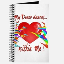 My Organ Donor Dances Within Me! Journal