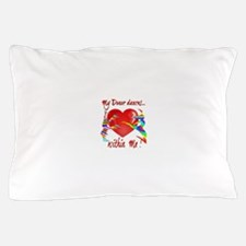 My Organ Donor Dances Within Me! Pillow Case