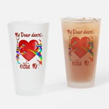My Organ Donor Dances Within Me! Drinking Glass
