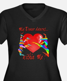 My Organ Donor Dances Within Me! Plus Size T-Shirt