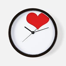 ilovecannabiswht Wall Clock