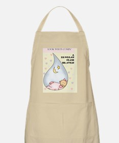 dewdrop girl card  Apron
