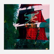Pirates of the Strip Tile Coaster