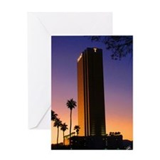 T-Towers Greeting Card