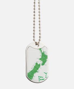 nzmap_back Dog Tags