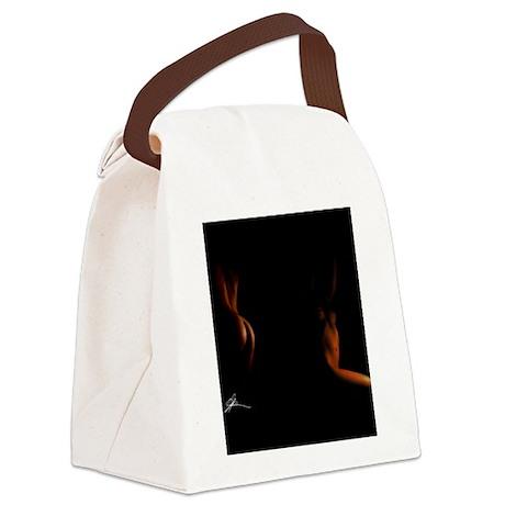Beauty Flip Flops Canvas Lunch Bag