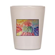 Cactus! Southwest art! Shot Glass