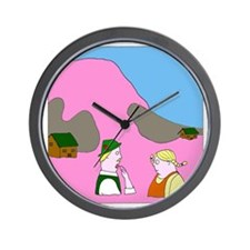 Spaddenburg - no text Wall Clock