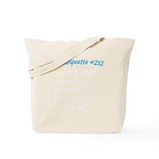 Gym-etiquette-0 Tote Bag