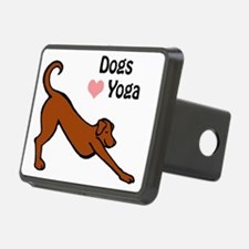 Dogs love yoga copy.gif Hitch Cover