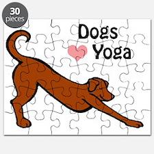 Dogs love yoga copy.gif Puzzle
