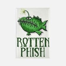 Rotten Phish Rectangle Magnet