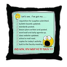 LetsSeePng Throw Pillow