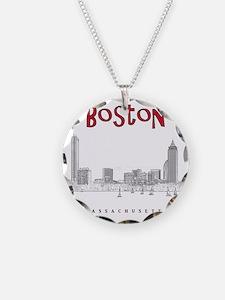 Boston_10x10_Skyline_BlackRe Necklace
