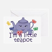 Little Teapot Greeting Card