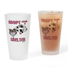 adopt-01 Drinking Glass