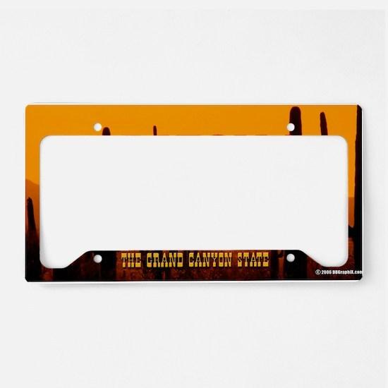 LicPlate-Arizona-DesertSunset License Plate Holder