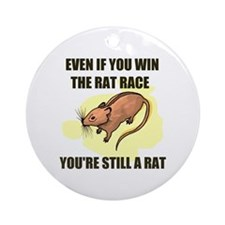 RAT RACE Ornament (Round)