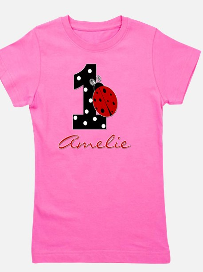 1_ladybug_birthdaygirl_AMELIE Girl's Tee