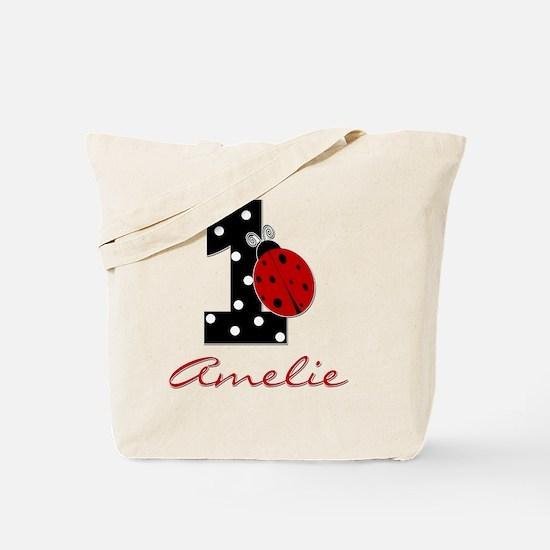 1_ladybug_birthdaygirl_AMELIE Tote Bag