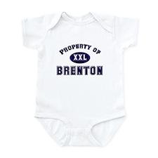 Property of brenton Infant Bodysuit
