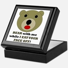 Bear with Me Keepsake Box