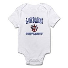 LOMBARDI University Infant Bodysuit