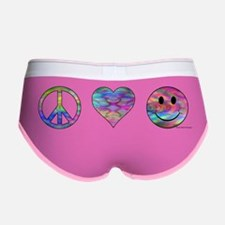 peacelovehappiensee Women's Boy Brief