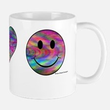 peacelovehappiensee Mug