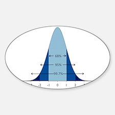NormalShuttle Sticker (Oval)