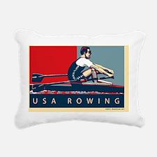 hope_rowing Rectangular Canvas Pillow